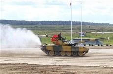 越南代表团在2020年国际军事比赛上继续取得高成绩