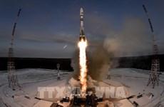 泰国首颗军事卫星成功发射上空