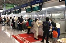 新冠肺炎疫情:越南将350多名越南公民从日本接回国
