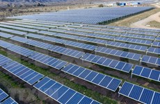 越南公司参加老挝太阳能发展项目