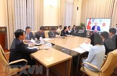 范平明出席二十国集团外长视频会议