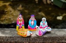 传承和维护传统土偶制作业