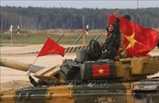 Army Games 2020:  越南夺得坦克两项比赛第二组决赛冠军