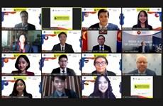 东盟峰会模拟会议重点讨论青年对打造绿色清洁东盟共同体的重要性