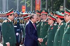 政府总理阮春福:努力推动越南军事艺术和科学发展到新水平