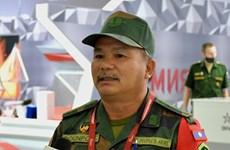越南人民军坦克赛队给国际朋友留下深刻印象