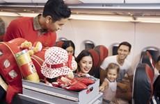 越捷航空公司推出数十万张1万越盾的机票