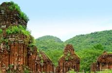 广南省美山文化遗产景区重新开门迎客