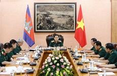 提高越南与柬埔寨防务合作机制的质效