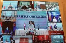 老挝国会主席高度评价越南担任ASEAN和AIPA轮值主席国的作用