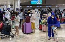 在法国、摩洛哥和智利的近280名越南公民被接送回国