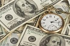 9月10日越盾对美元汇率中间价下调8越盾