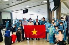 新冠肺炎疫情:将在美国的近350名越南公民接回国