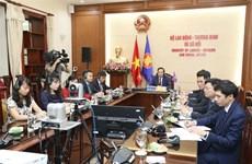 越南出席二十国集团劳工和就业部长视频会议