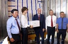 宁顺省首批虾类产品按照EVFTA协定向欧盟出口