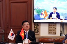 胡志明市与韩国釜山成立跨行业在线合作小组
