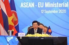 2020东盟轮值主席年:东盟与欧盟和东盟与印度外长会以视频形式召开