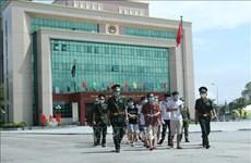 越南向中国移交113名公民
