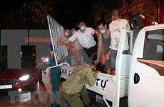 海阳省许多居民区和街道解除隔离