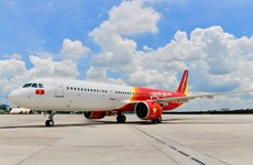 越捷恢复全部国内航线 出售0越盾起机票