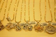 9月16日上午越南国内黄金价格下降15万越盾