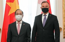 波兰希望进一步加强与越南在多方面的合作关系