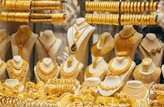 9月17日上午越南国内黄金价格继续下降15万越盾