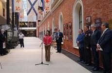 """""""金兰:越俄军事合作""""展览会在圣彼得堡举行"""
