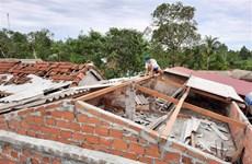 第五号台风对越南中部各地造成严重的人员和财产损失