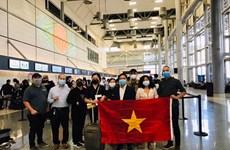 在美国的340余名越南公民安全回国