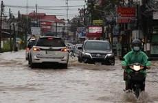 """台风""""红霞"""" 影响到泰国22府"""