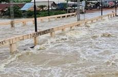 暴雨给柬埔寨多个省份造成严重洪涝灾害