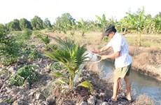 印度向九龙江三角洲7个水资源管理项目提供资金援助