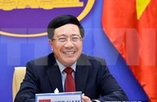 越南政府副总理兼外长范平明与沙特阿拉伯外交大臣费萨尔通电话