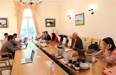 越德两国关系自建立战略伙伴关系以来在各个领域取得长足发展