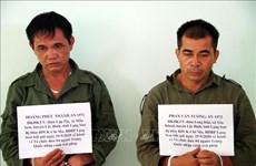谅山省职能力量成功侦破组织中国人非法入境越南的两个犯罪团伙