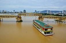 具有升降功能的桥梁引起岘港市民的关注