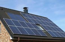 今年前8月全国所安装的屋顶太阳能发电系统2.5万个