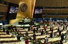 第75届联大:新加坡呼吁加强全球新冠肺炎防控合作