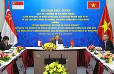 越南与新加坡加强网络安全领域的合作