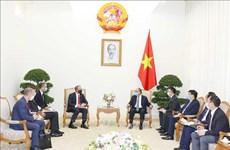 政府总理阮春福会见英国外交发展部大臣拉布