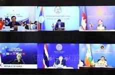 湄公河次区域国家与韩国承诺恢复全球贸易  确保公平获得疫苗权