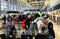 将在日本滞留的350多名公民接回国