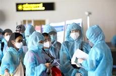 新冠肺炎疫情:在欧洲和非洲的近340名越南公民安全回国