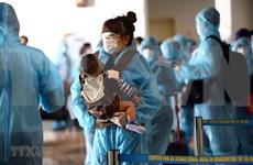新冠肺炎疫情:将逾350名越南公民从中国台湾接回国