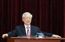 迎接越共十三大:越共十二届中央委员会第十三次全体会议公报(第一号)