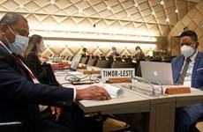 东帝汶启动加入世界贸易组织的谈判进程