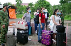 越南新增1例输入病例和1例治愈出院病例