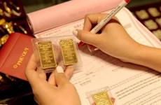 10月7日上午越南国内黄金价格下降30万越盾