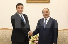 越南政府总理阮春福会见以色列驻越大使纳达夫